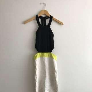 Bardot Cut Out Dress