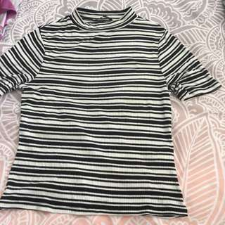 Cotton On Ribbed Shirt Sz S