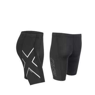 2 Pairs Of BNWT 2XU Compression Shorts