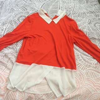 Collared Shirt Sz S