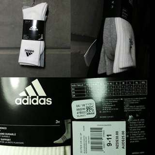 3 Adidas Original High Socks