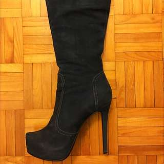Autumn Boots With High Heels
