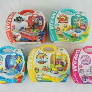FunKids 兒童手提式遊戲組-工具組