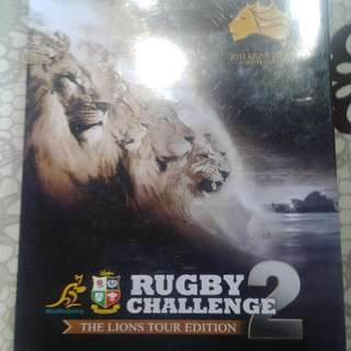 XBox 360 Rugby Challenge 2-The Lions Tour Edition