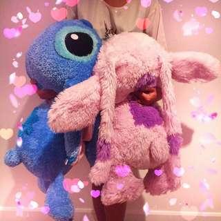 Stitch Angel Plush Toy