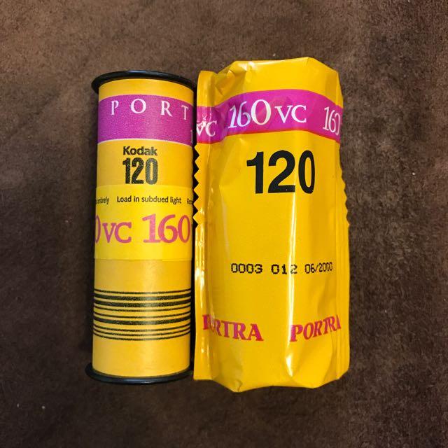 120 底片 Kodak Portra 160VC
