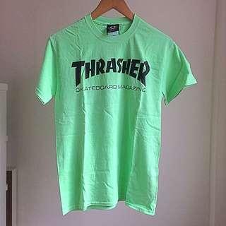 Thrasher Skatemag Neon Tee Size S 全新