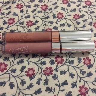 Colourpop Liquid Lipsticks Chi and Trap