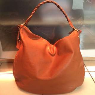 Thailand Genuine Leather Brown Bag