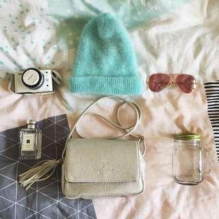 💖 Fuzzy Mint Colour Beanie