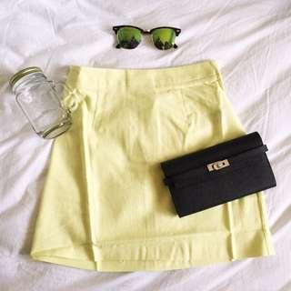 💖 ASOS Yellow Skirt