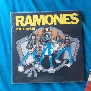 Ramones Road To Ruins Vinyl Record