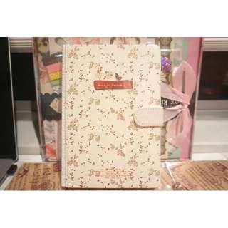 LAST ONE !!! Cute Flowery Note Book