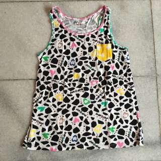 (KIDS) Sleeveless Shirt