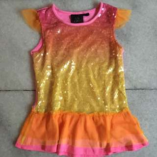 (KIDS) Sleeveless Sparkling Tops