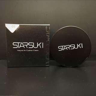 STARSUKI 妝自然氣墊粉底霜 02 粉色 全新未拆封