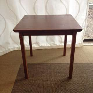 Vintage timber coffee / side table (danish style)