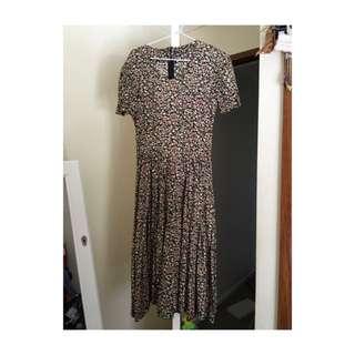 Vintage Dress Floral