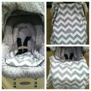 Grey Carseat Canopy. Brand New, Opened To Look At It. Didn't End Up Using