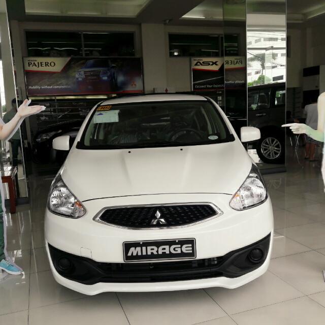 2016 Mitsubishi Mirage Hatchback GLX MT