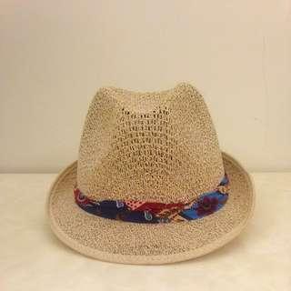 異國風情編織帽