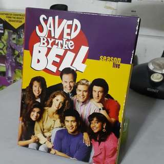Saved By The Bell Season 5 DVD set