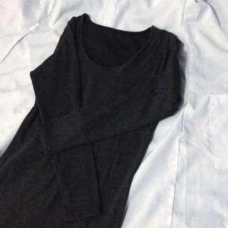 Gray Bodycon Dress