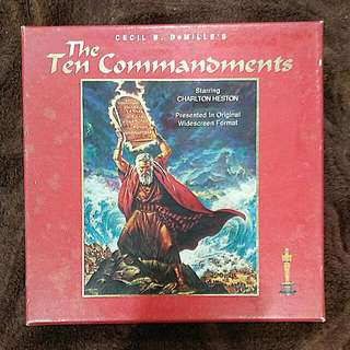 Pre-loved Classic VCD - The Ten Commandments