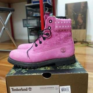 Stayreal X Timberland 限量靴8號