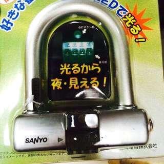LED SANYO PADLOCK (password)