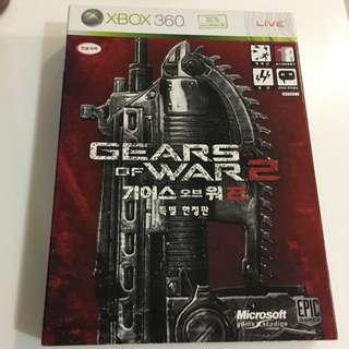 Xbox 360 Steal book Gear Of War 2 (Kor)