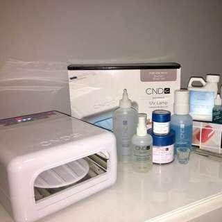 CND Nail Kit + Accessories