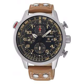 SSC421P1 - NEW SEIKO SOLAR PROSPEX 100M FLIGHTMASTER CHRONOGRAPGH SPORTS WATCH