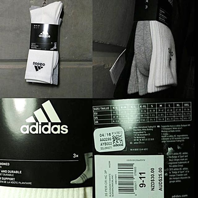 3 Adidas Original Socks
