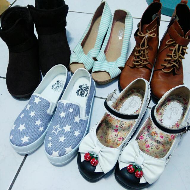 鞋子大集合