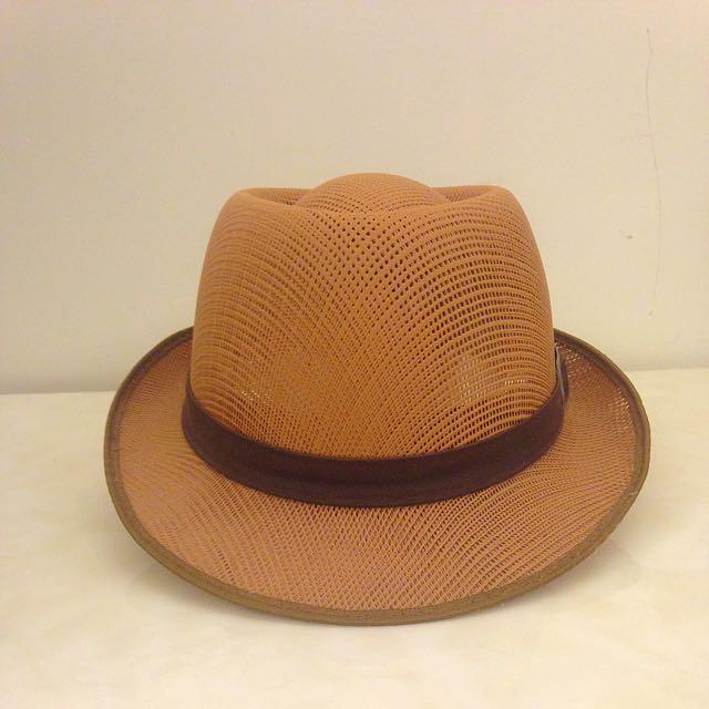 編織造型紳士帽