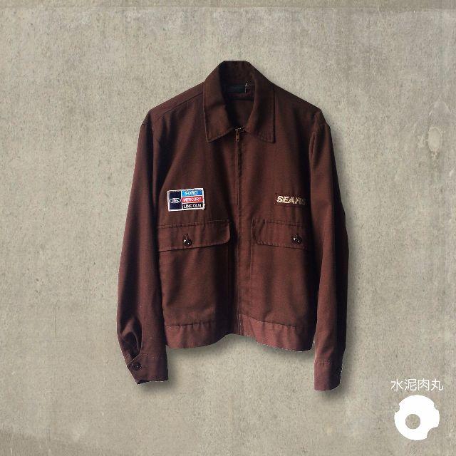 降!!古著布章工作外套 古著 復古 工作外套