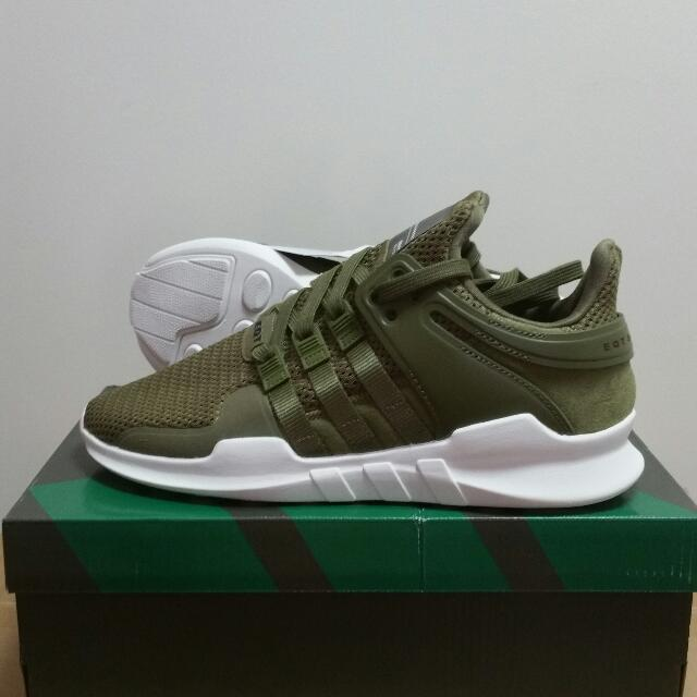 best service 6f762 6feb4 Adidas EQT Support Adv Olive Green, Men's Fashion, Footwear ...