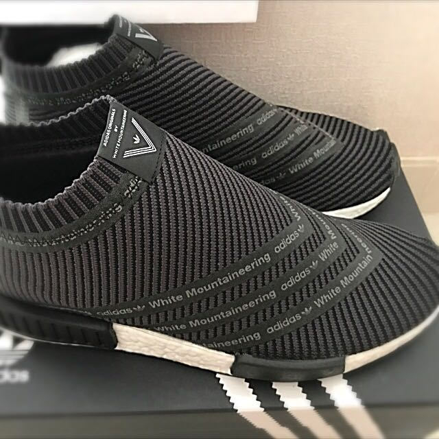 hot sale online 64304 6d145 Adidas X White Mountaineering NMD City Sock CS1 PK EARLY RELEASE S80529 Sz  9.5