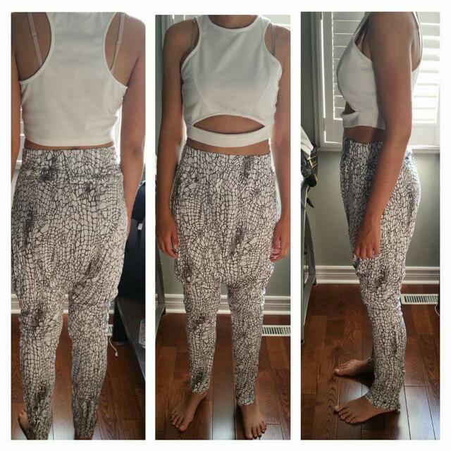 Asos Drop Crotch Trouser Size M