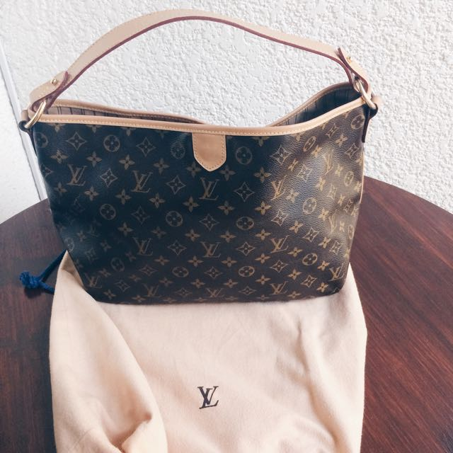 Authentic Delightful MM LV Bag
