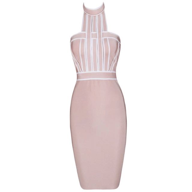 Baby pink Bodycon Dress