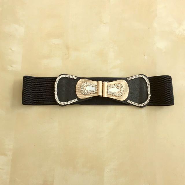 Belt With Diamontes