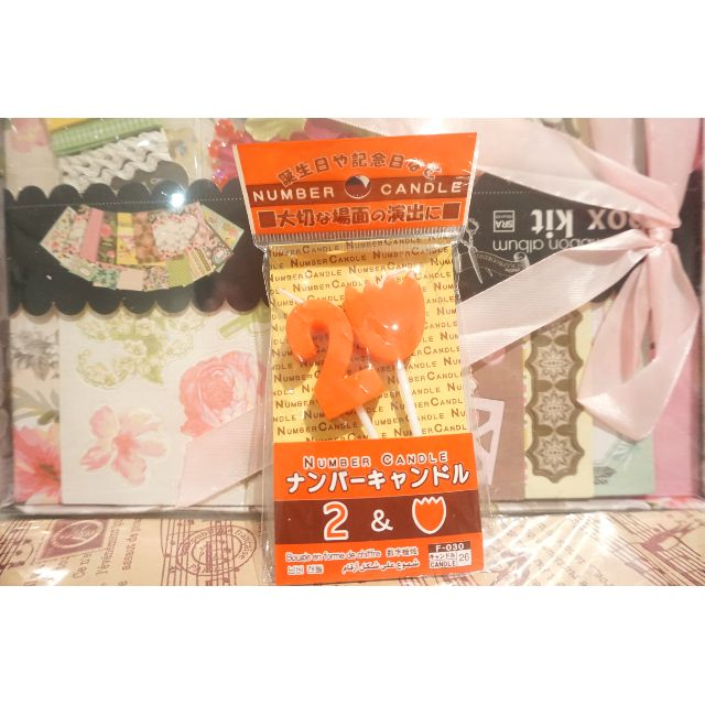 Birthday Candle Set from Japan