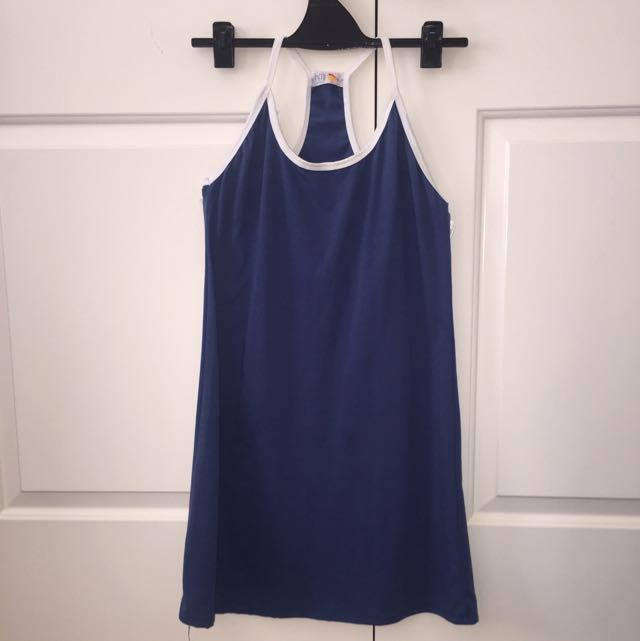Cheep - Blue Short Dress