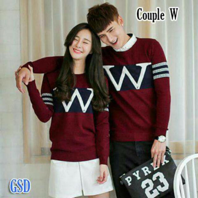 Couple W Maroon