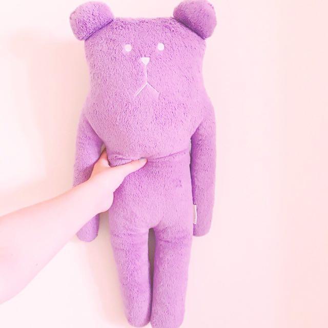 Craftholic 紫色熊