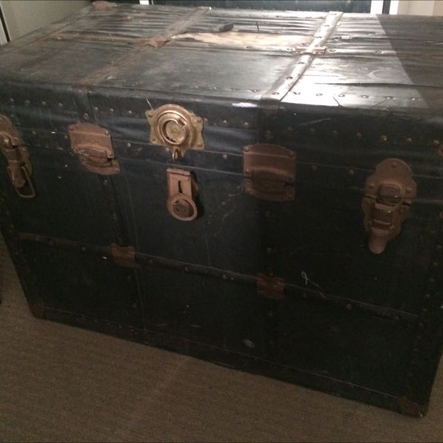 Extra Large Vintage Trunk Chest