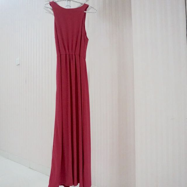 Fuchsia Longdress Size S