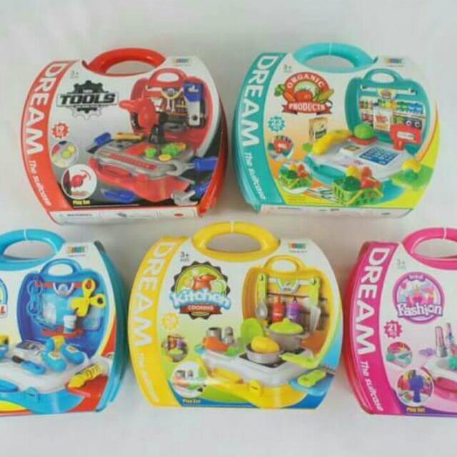 FunKids 兒童手提式遊戲組-超市組